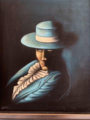 Black Velvet Paintings signed for Sale in Elma Center, NY