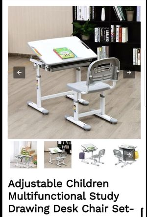 Children's drawing desk chair set for Sale in Corona, CA