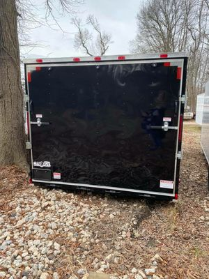 BRAND NEW ENCLOSED TRAILERS ALL SIZES AND COLORS 20FT 24FT 28FT 32FT IN STOCK FREE DELIVERY for Sale in Lemon Grove, CA