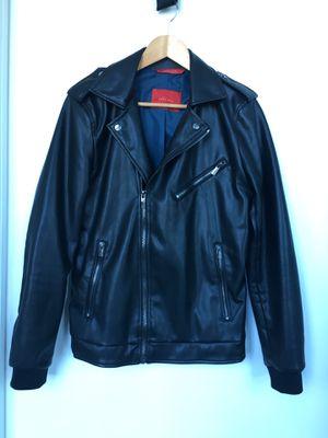 Zara men's faux leather jacket Size M for Sale in Miami, FL