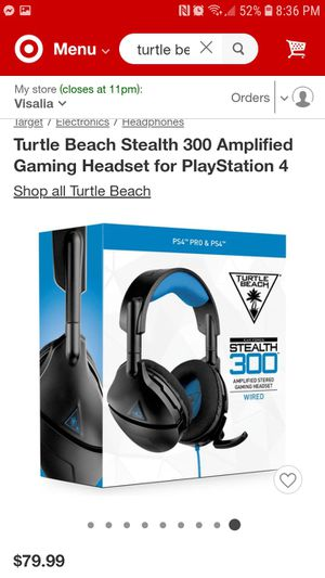 Turtle Beach Gaming Headset for Sale in Dinuba, CA
