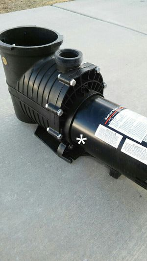 Pool/Spa/Hot Tub Pump. Motor damaged! Specs are shown on the label. for Sale in Salt Lake City, UT