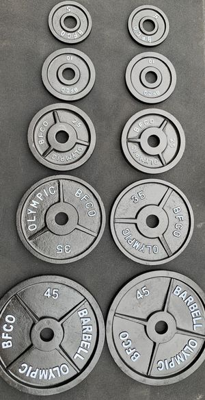 BFCO Olympic weight set for Sale in Kent, WA