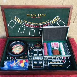"Casino Table Top Board Black Jack Poker Craps Roulette 32""/ 1.75"" for Sale in Glendale, AZ"