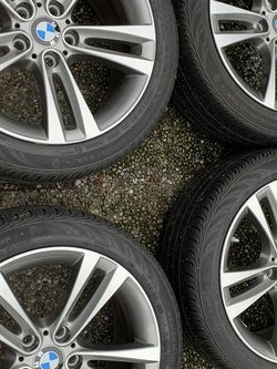 BMW Double Spoke light alloy wheels (Style 397) With Continental tires for Sale in Seattle,  WA