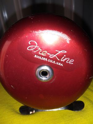 Vintage. ( tre line ) fly fishing reel. Boulder co. Usa. 1950's. ( really nice condition) for Sale in Aurora, CO
