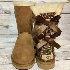Custom bling authentic ugg boots for Sale in Columbus, OH