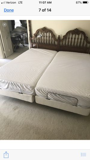 Bob O Pedicure Power 2 Twin XL Adjustable Bed for Sale in Sterling, VA