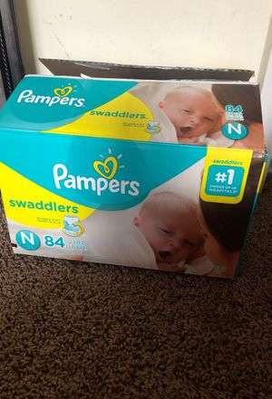 Size newborn diapers for Sale in Laurel, MD