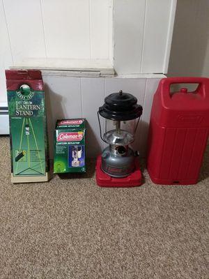 Colman powerhouse dual fuel lantern for Sale in New Bedford, MA