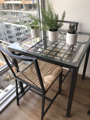 IKEA 2 seater table with chairs for Sale in Seattle, WA