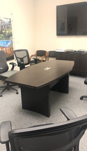 Conference room table for Sale in Redmond, WA