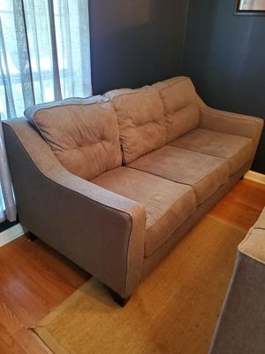 Matching Gray Couch & Loveseat (Fabric) for Sale in Holly Springs, NC