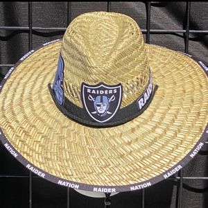 Raiders straw hat (Great Gift 🎁) Same Day Shipping If Paid By 3pm (I Also Have Other Team's) for Sale in Tampa, FL