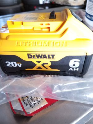 Dewalt Battery 6.0AH 20V for Sale in Norwalk, CA
