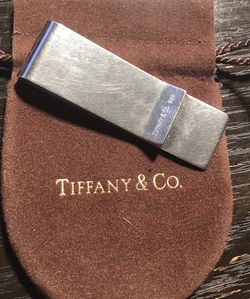 Tiffany and Company 1837 Money Clip with Original Pouch for Sale in Queens,  NY