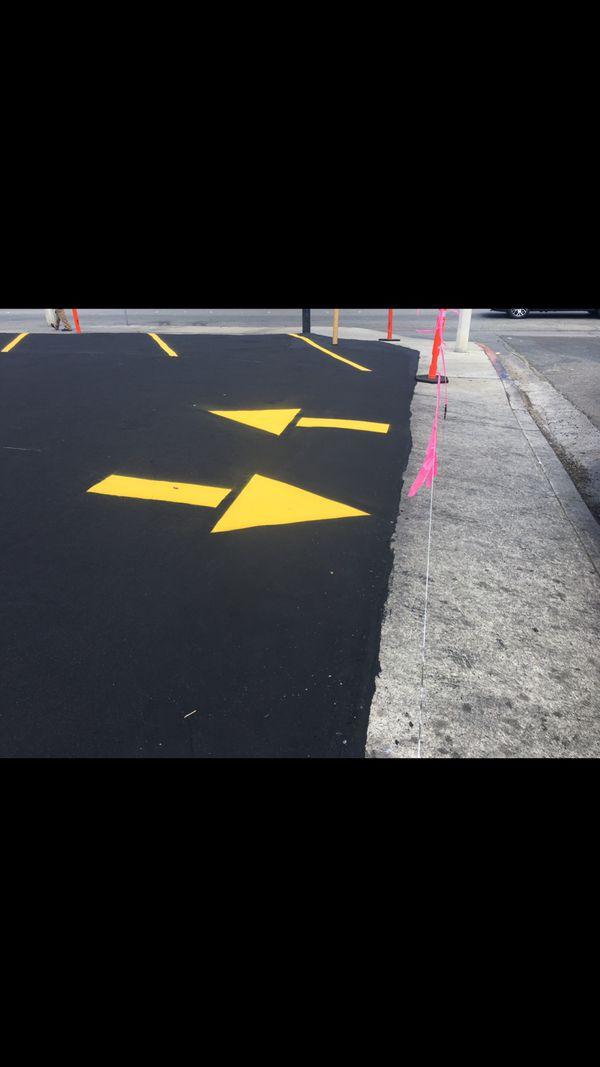 Restriping Parking lot service free estimates