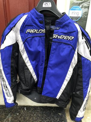 Motorcycle Fieldsheer jacket and magnet tank bag for Sale in Manassas, VA