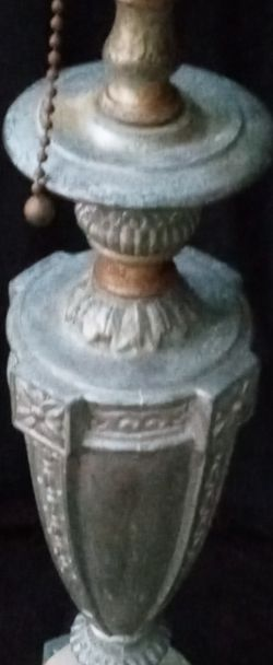 "ANTIQUE REMBRANDT #2021 24 "" TABLE LAMP. BRONZE/BRASS 3 WAY ORNATE ART DECO for Sale in Sanford,  FL"