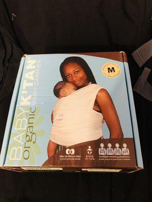 Baby carrier medium k'tan organic infant newborn for Sale in Seattle, WA