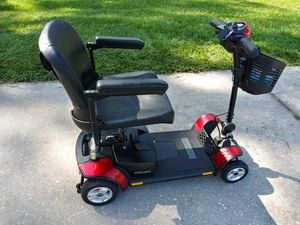 portable Pride Go Go Elite Traveller Plus 4 Wheel Heavy Duty Mobility Scooter for Sale in Lakeland, FL