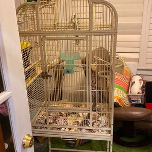 Wrought Iron Bird Cage for Sale in Long Beach, CA