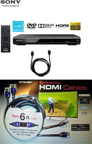 Sony HDMI DVD Player Bundle for Sale in Boca Raton, FL