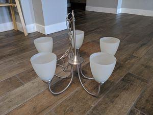 New large brushed nickel chandelier light for Sale in Phoenix, AZ