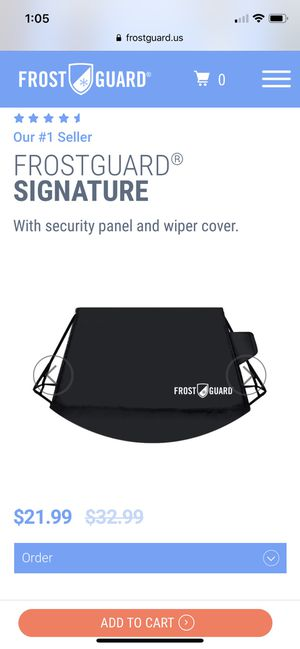 Windshield Cover for Sale in Pittsburgh, PA