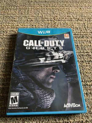 Call of Duty Ghosts Nintendo Wii U for Sale in Glen Allen, VA