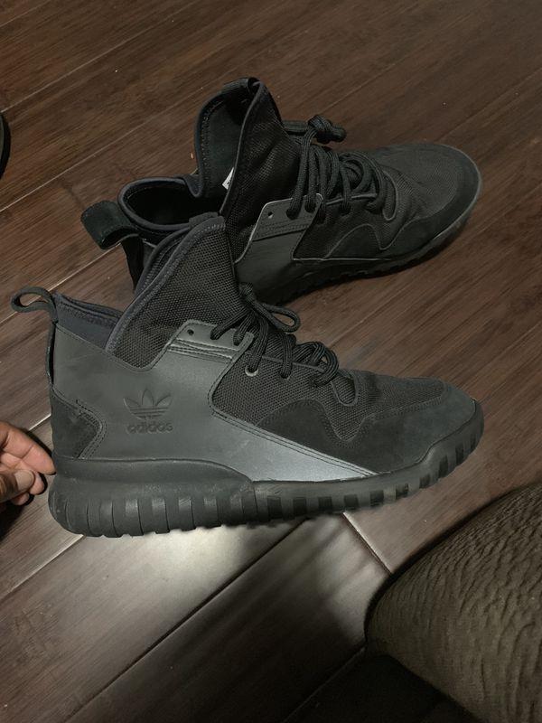 Adidas tubular X all black SIZE 11.5