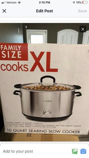 Crockpot xl for Sale in Dickinson, TX