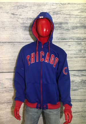 Chicago Cubs hoody ( hoodie jacket shirt zip up white Sox Y1) for Sale in Bolingbrook, IL
