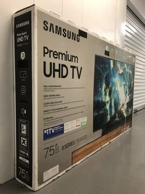 SAMSUNG 75 INCH 4K 240 MOTION RATE 8000 SERIES SMART TV! 3 month guarantee. PICKUP SPECIAL! for Sale in Phoenix, AZ