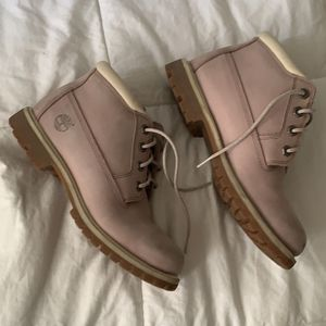 Timberland Boots Pink 7.5 for Sale in Germantown, MD
