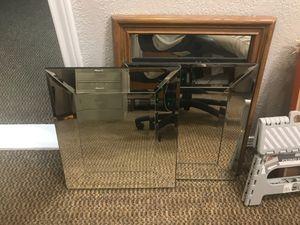 Three wall mirrors. $20 for Sale in Tulsa, OK