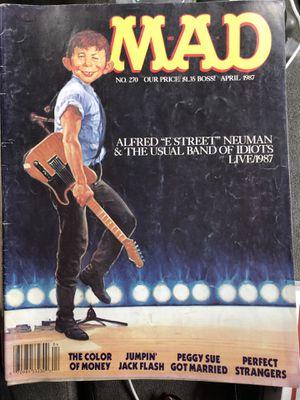 Mad magazine 1987 April Fine condition for Sale in Vacaville, CA