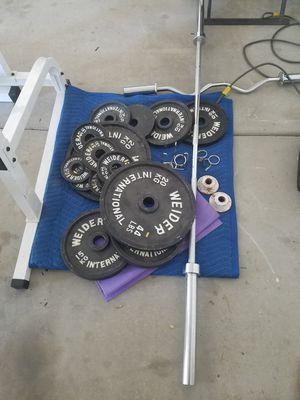 Weider weight set for Sale in Phoenix, AZ