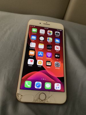 iPhone 8+ Gold T-Mobile Unlocked and works perfect for Sale in Owings Mills, MD