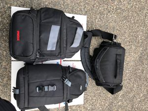 Lot of 3 Camera Bags Sony Pentax Altura for Sale in Auburn, WA