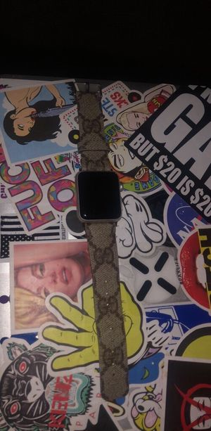 3rd Generation Gps+Lte Apple Watch W/ Real Gucci for Sale in San Jose, CA