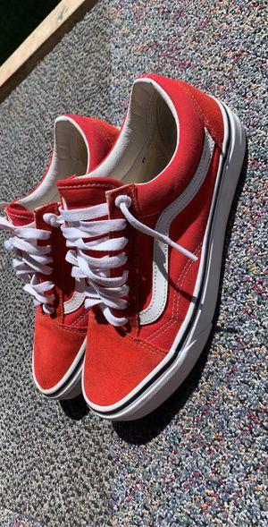 Red vans for Sale in Clovis, CA
