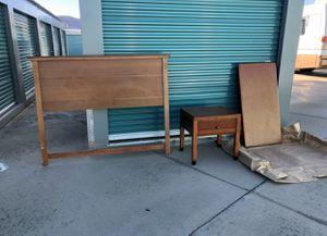 Headboard, desk, nightstand for Sale in Menifee, CA