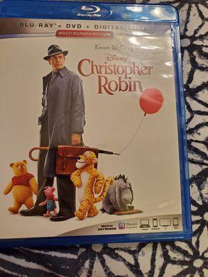 Disney Christopher Robin Blu-Ray for Sale in Lakeland, FL