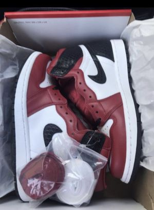 Jordan 1 Snake Skin Satin Red for Sale in Renton, WA