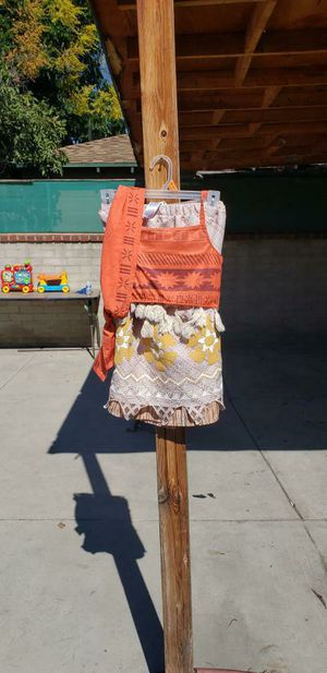 Disney's Moana costume size 7/8 Today only $10 for Sale in Los Angeles, CA