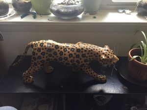 Home decor - tiger - made of wood for Sale in Revere, MA