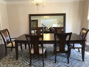 **Dining table and buffet set.**bought from Macy's for Sale in Tracy, CA