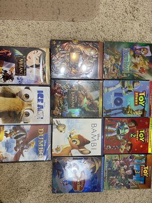 Disney DVD Lot brand new never opened for Sale in Porter, TX