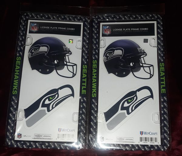 Seattle Seahawks License Plate Holders